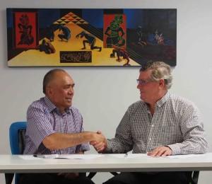 Tom Manaena and Trevor Taylor ERHL